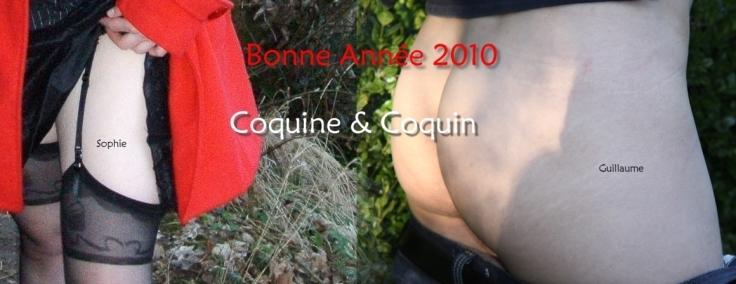 Sophie & Guillaume vous souhaitent une merveilleuse année 2010, année sexy, aimante et érotique !!!