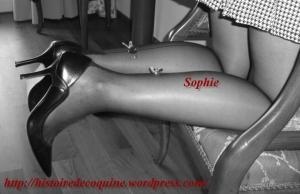 Sophie en noir et balnc